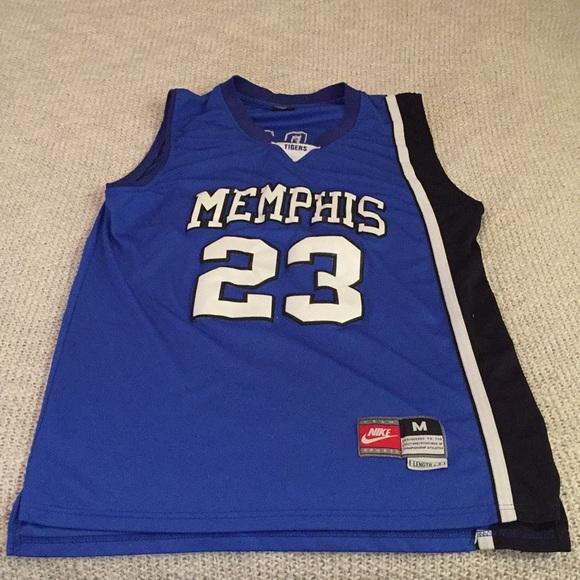 huge discount a9e91 98f23 Derrick Rose Memphis Jersey #23